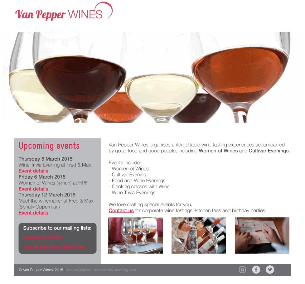 vanpepper website